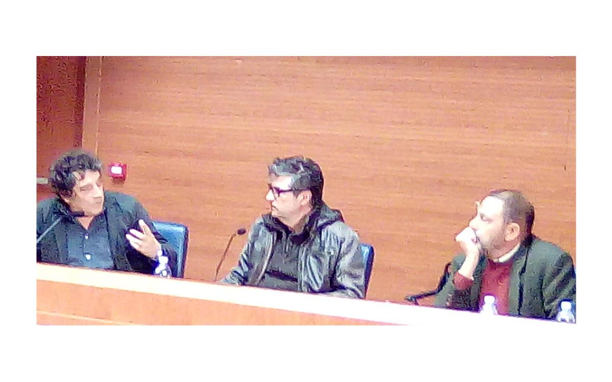 """Incontro con lo scrittore Sandro Veronesi  : """"Il Cinema Passivo"""""""