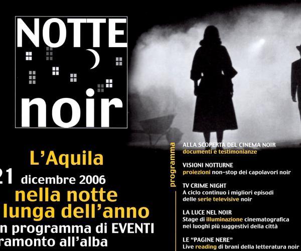 Notte Noir | La Lanterna Magica