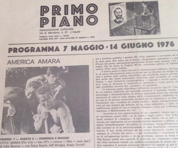 """Cineclub """"Primo Piano"""""""